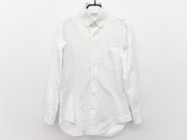 THOM BROWNE(トムブラウン) 長袖シャツ サイズ0 XS メンズ 白