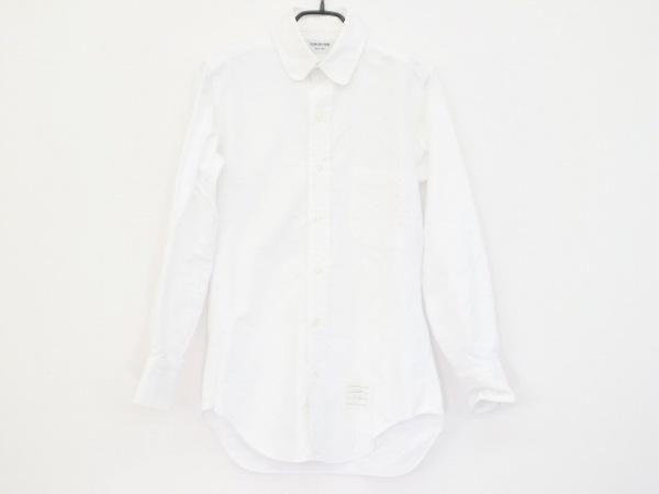 THOM BROWNE(トムブラウン) 長袖シャツ サイズ0 XS メンズ美品  白