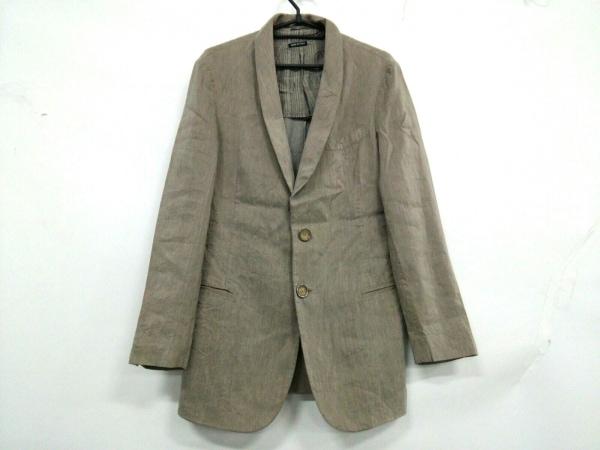 GIORGIOARMANI(ジョルジオアルマーニ) ジャケット サイズ48 M メンズ ライトブラウン