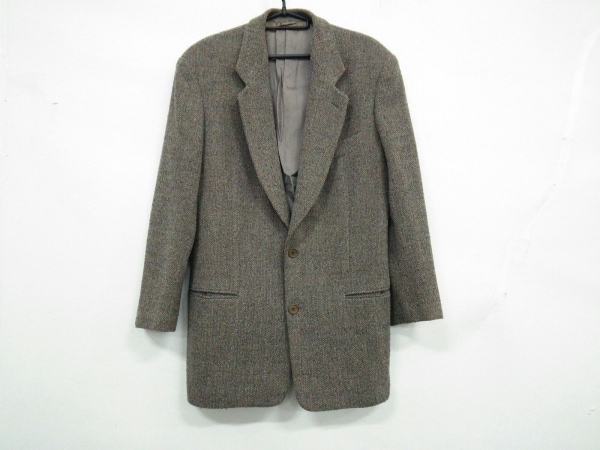 GIORGIOARMANI(ジョルジオアルマーニ) ジャケット サイズ46 S メンズ グレーブラウン