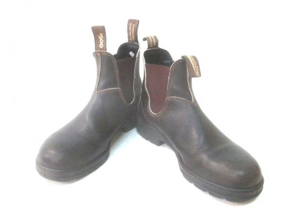 BLUNDSTONE(ブランドストーン) ブーツ 5 レディース 黒 レザー
