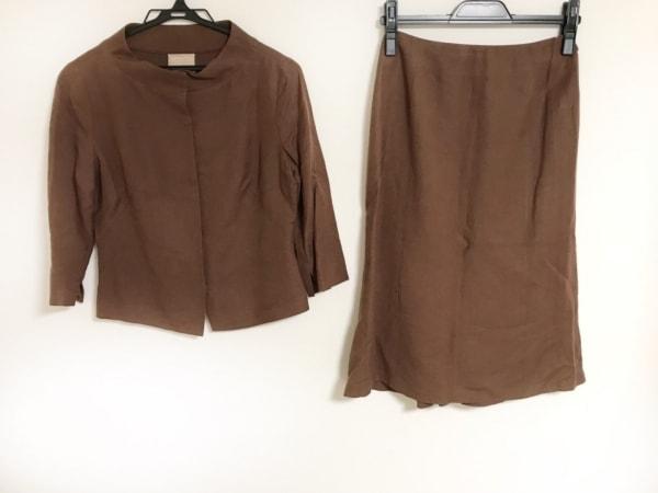 Sybilla(シビラ) スカートセットアップ サイズM レディース美品  ダークブラウン