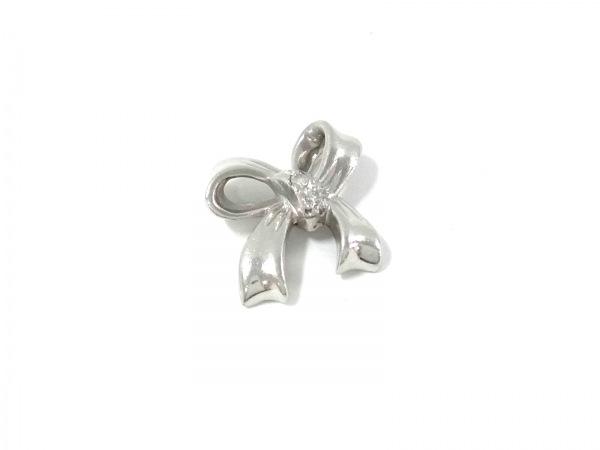 ノーブランド ペンダントトップ美品  Pt900×ダイヤモンド 総重量2.3g/0.02刻印