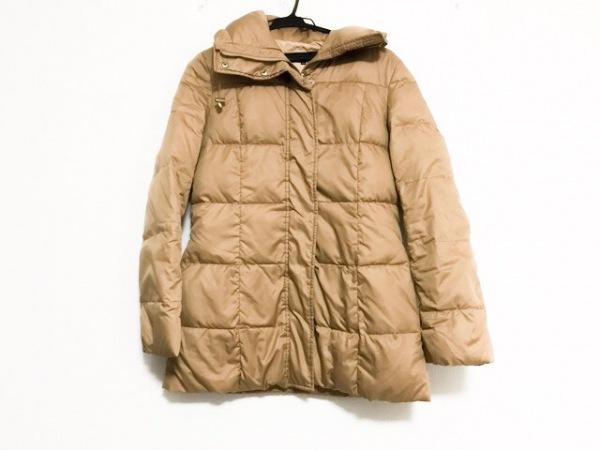 セブンアイディーコンセプト ダウンコート サイズ38 M レディース美品  ブラウン 冬物