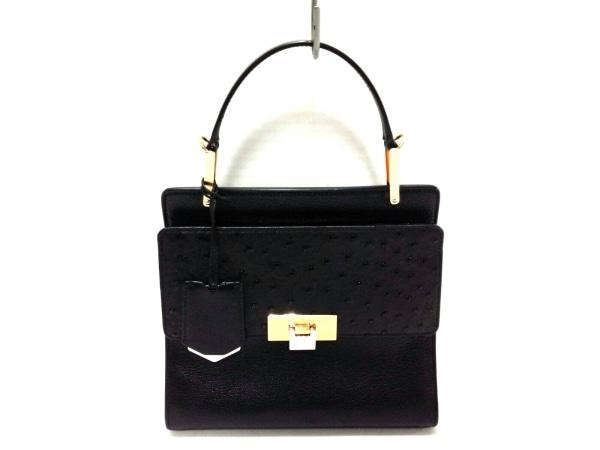 BALENCIAGA(バレンシアガ) ハンドバッグ MIROIR 370635 黒×ゴールド×シルバー