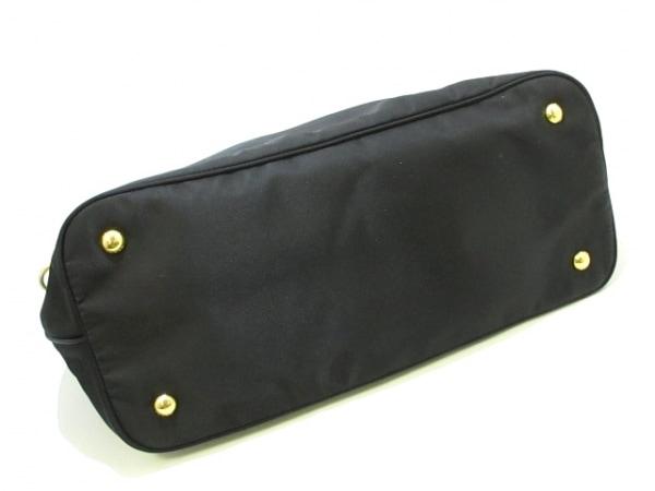 PRADA(プラダ) トートバッグ美品  - 黒 革タグ ナイロン×レザー