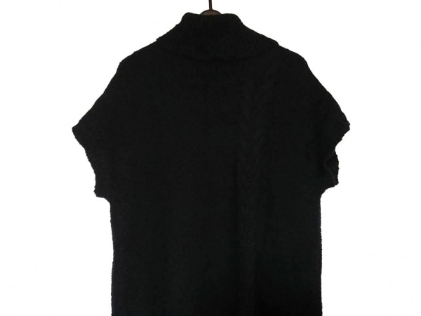 midiumi(ミディウミ) ワンピース レディース美品  黒 ニット/タートルネック