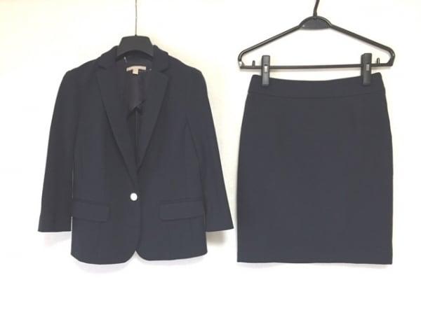 バナナリパブリック スカートスーツ サイズ2 S レディース美品  ダークネイビー