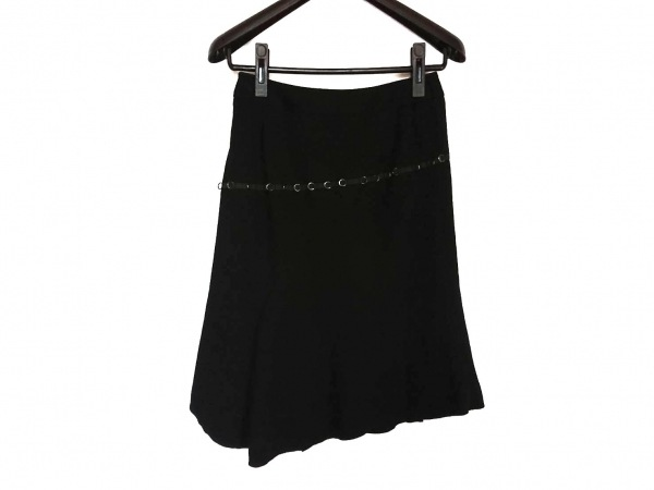 Pinky&Dianne(ピンキー&ダイアン) スカート サイズ36 S レディース美品  黒