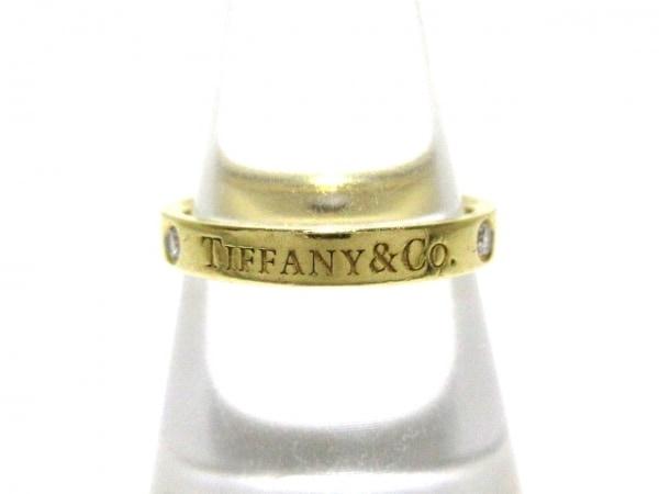 TIFFANY&Co.(ティファニー) リング美品  ノーツ K18YG×ダイヤモンド 3Pダイヤ