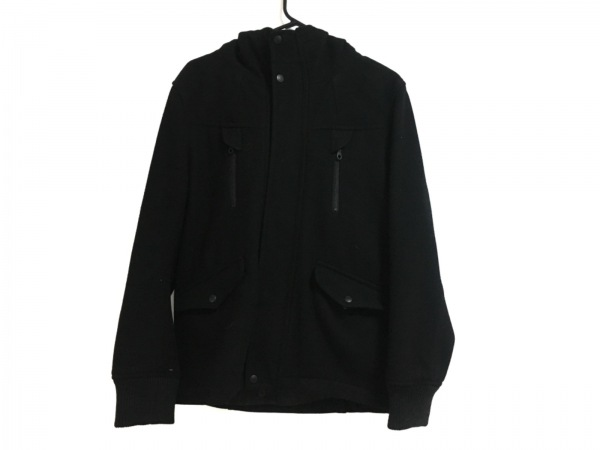 ティーケータケオキクチ コート サイズ3 L レディース美品  黒 ショート丈/冬物