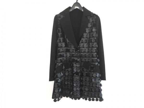 NOKO OHNO(ノコオーノ) ジャケット レディース美品  黒 メッシュ