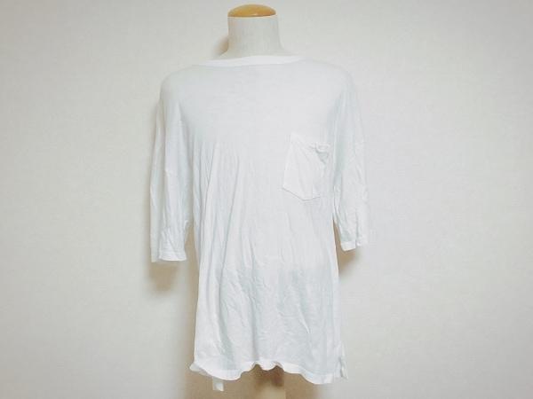アンデコレイテッドマン ヨシオクボ 半袖Tシャツ サイズ3 L メンズ 白 透け感あり