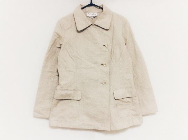Scapa(スキャパ) コート サイズ38 L レディース美品  ベージュ 春・秋物/ショート丈