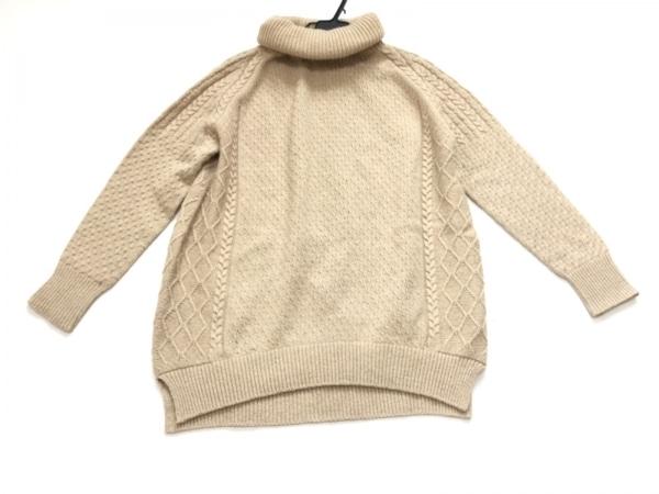 GREED(グリード) 長袖セーター サイズF レディース ベージュ タートルネック