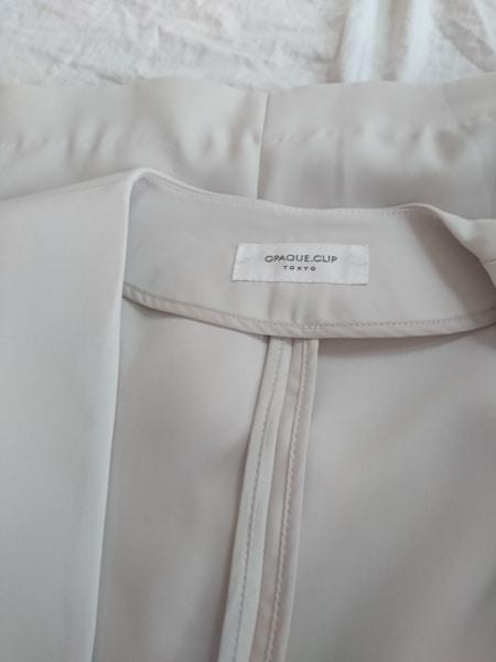 OPAQUE(オペーク) スカートスーツ レディース アイボリー
