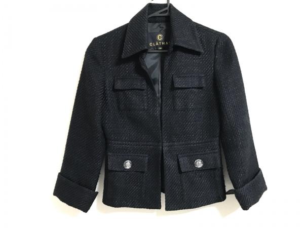 CLATHAS(クレイサス) ジャケット サイズ38 M レディース美品  黒