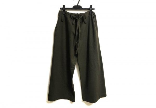 Y's(ワイズ) パンツ サイズ2 M レディース カーキ ワイドパンツ/ウエスト紐あり
