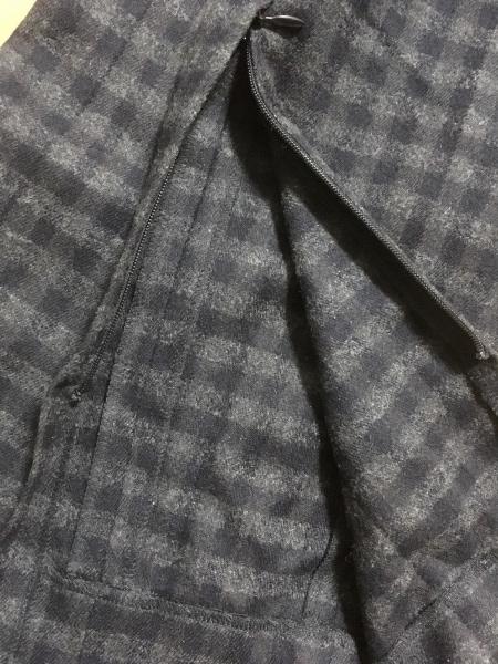 theory(セオリー) パンツ サイズXS レディース ダークグレー×黒 チェック柄