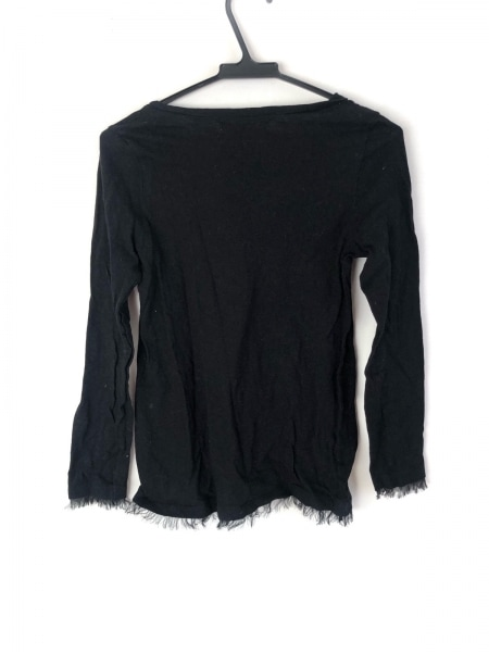 Chesty(チェスティ) 長袖Tシャツ サイズF レディース美品  黒×アイボリー