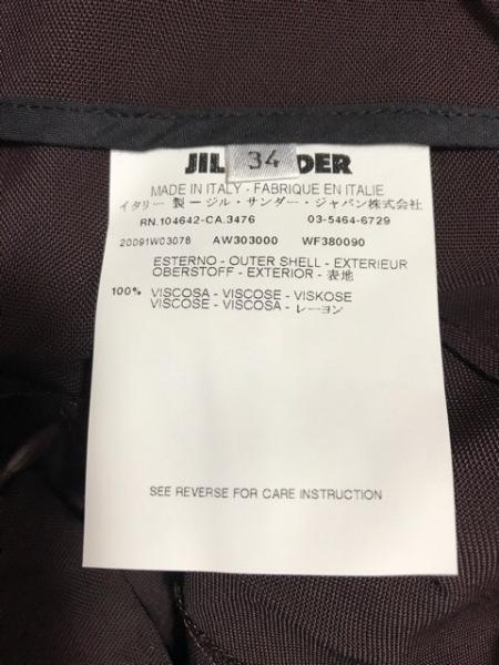 JILSANDER(ジルサンダー) ショートパンツ サイズ34 XS レディース ボルドー