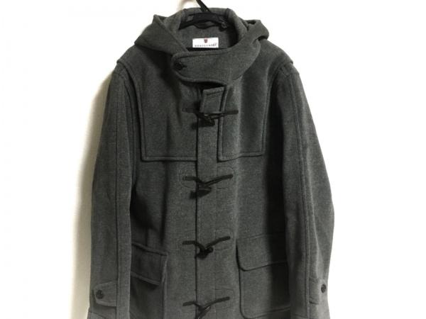 MONTGOMERY(モンゴメリー) ダッフルコート サイズ40 M メンズ美品  グレー 冬物