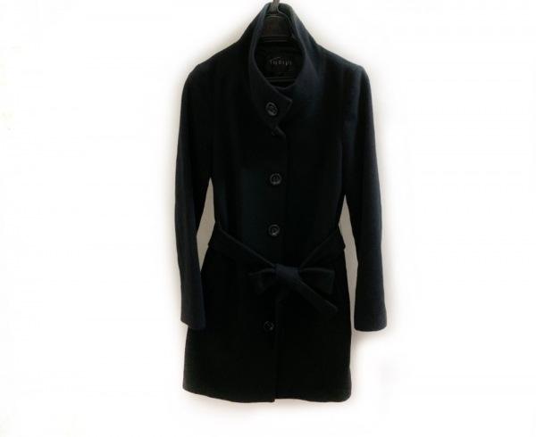 INDIVI(インディビ) コート サイズ38 M レディース美品  黒 冬物