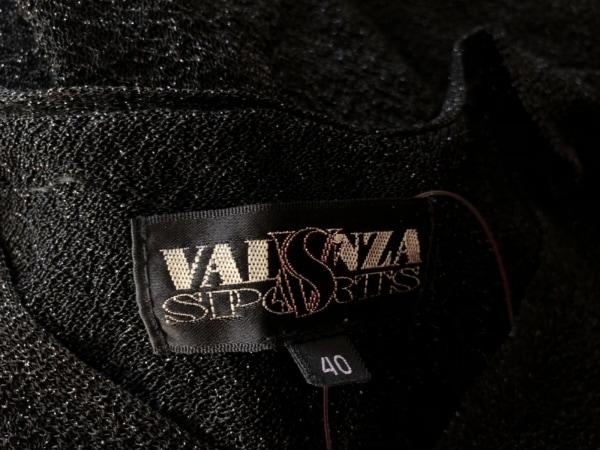 VALENZA SPORTS(バレンザスポーツ) 長袖カットソー サイズ40 M レディース美品  黒