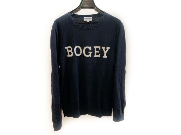 PEARLY GATES(パーリーゲイツ) 長袖セーター サイズ5 XS レディース美品  黒