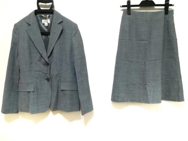 タルボット スカートスーツ サイズ6 M レディース新品同様  グレー 3点セット(パンツ)