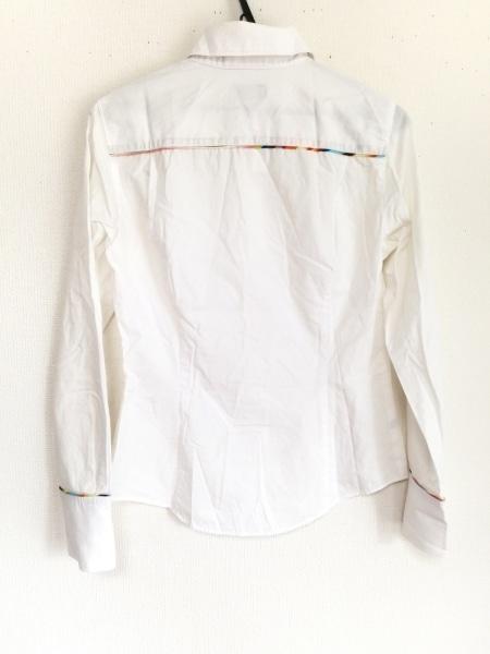 ポールスミスブラック 長袖シャツブラウス サイズ40 M レディース 白