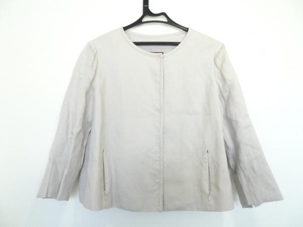 AMACA(アマカ) ジャケット サイズ40 M レディース ベージュ