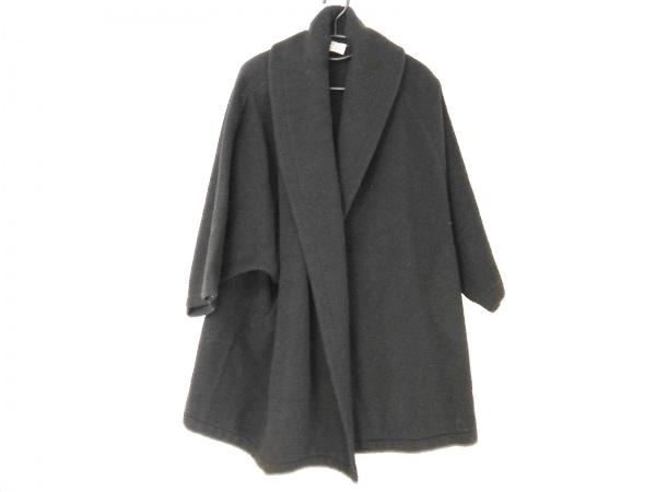 BASILE(バジーレ) コート サイズ40 M レディース 黒 肩パッド/冬物