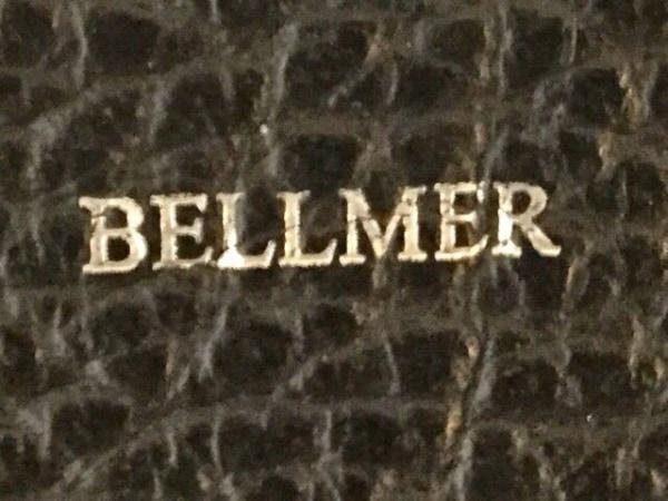 BELLMER(ベルメール) トートバッグ 黒×白 レザー
