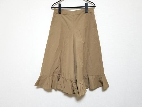 MUVEIL(ミュベール) パンツ サイズ38 M レディース ライトブラウン