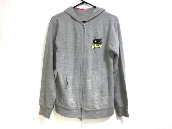mmts(マミタス) ブルゾン レディース グレー×黒×イエロー 春・秋物