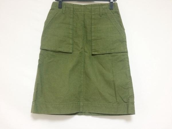 MUVEIL WORK(ミュベールワーク) スカート サイズ36 S レディース美品  ダークグリーン