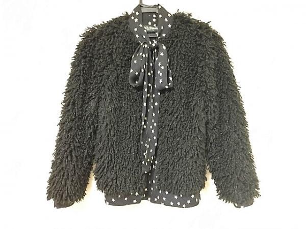 ドルチェアンドガッバーナ ジャケット サイズ40 M レディース 黒×アイボリー 冬物