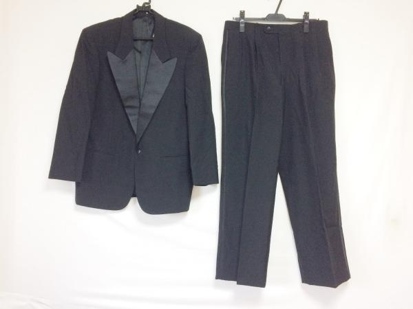クリスチャンディオールムッシュ シングルスーツ サイズAB5 メンズ 黒