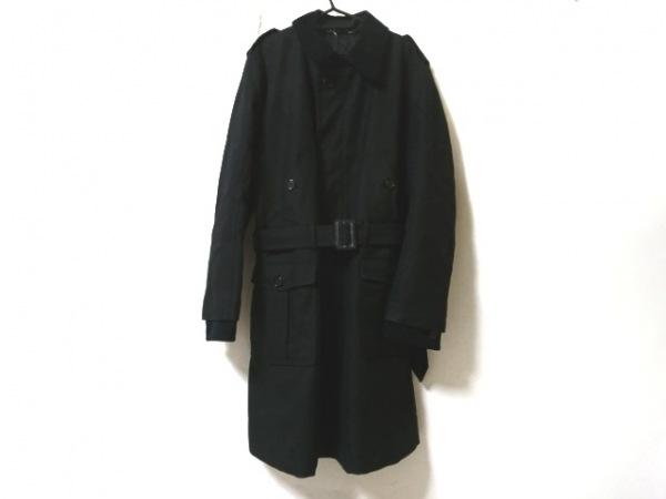 DOLCE&GABBANA(ドルチェアンドガッバーナ) コート サイズ50 M メンズ美品  黒 冬物