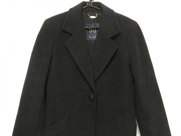 ROPE(ロペ) コート サイズ9 M レディース 黒 冬物