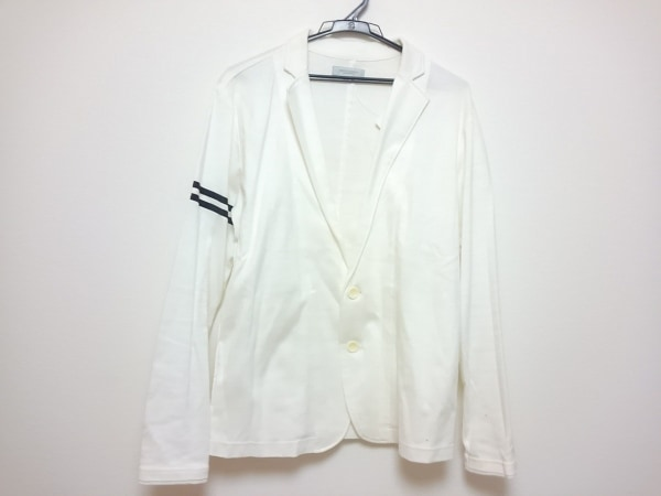 MEN'S TENORAS(メンズティノラス) ジャケット サイズL メンズ 白×黒