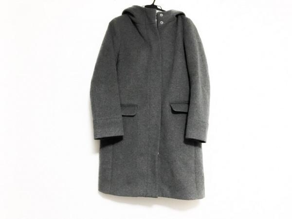 JEANASIS(ジーナシス) コート サイズF レディース美品  グレー ジップアップ/冬物