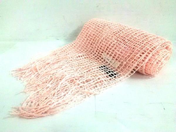 WILLSELECTION(ウィルセレクション) ストール(ショール)新品同様  ピンク 化学繊維