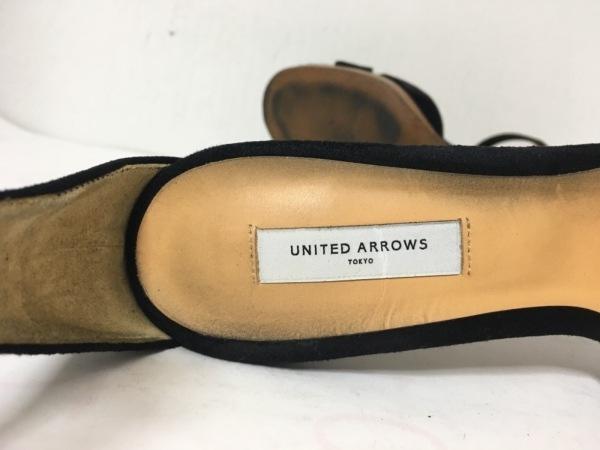 UNITED ARROWS(ユナイテッドアローズ) パンプス 36 レディース 黒 スエード