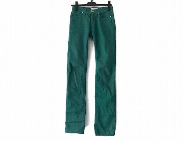 AcneJeans(アクネジーンズ) パンツ サイズ26 S レディース グリーン