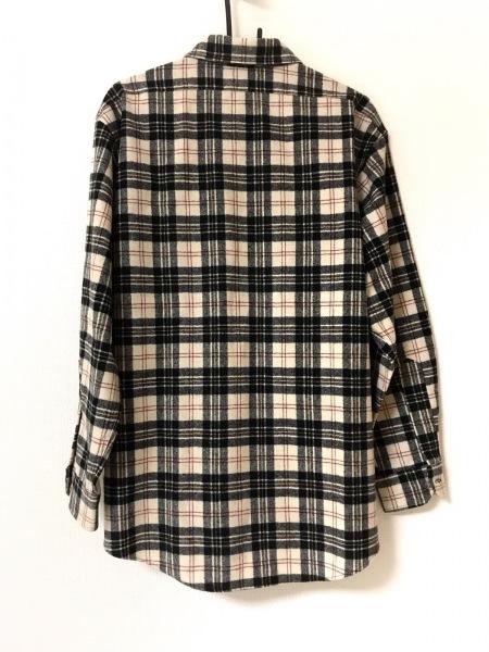 ペンドルトン 長袖シャツ サイズL メンズ美品  ベージュ×黒×ボルドー チェック柄