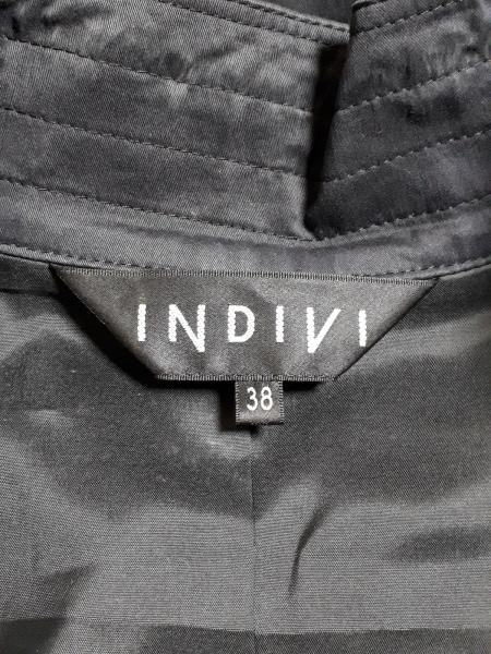INDIVI(インディビ) ワンピース サイズ38 M レディース ネイビー