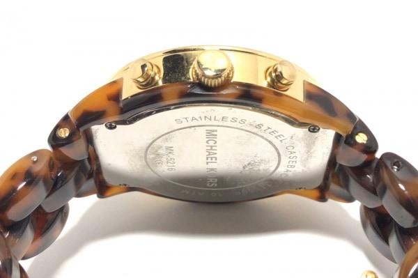 MICHAEL KORS(マイケルコース) 腕時計 MK-5216 レディース ブラウン