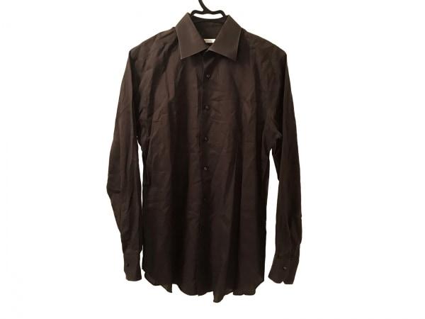 DESIGNWORKS(デザインワークス) 長袖シャツ サイズ40 M メンズ ダークグレー